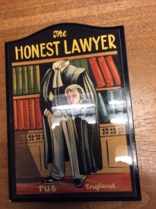 An Honest Lawyer Works Here